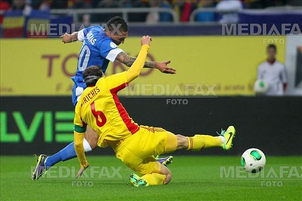 FOTBAL - ROMANIA - GRECIA - CM 2014 - PLAY-OFF